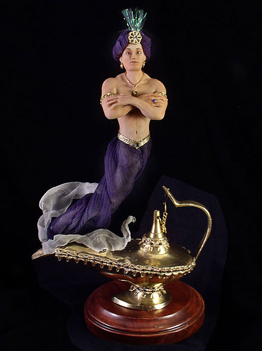 The Genie Is A Formless Spirit Of The Middle East, Also Known As A Djinn,  Or Jinni, Who Sometimes Appears In Human Form. Imprisoned In An Oil Lamp  For His ...