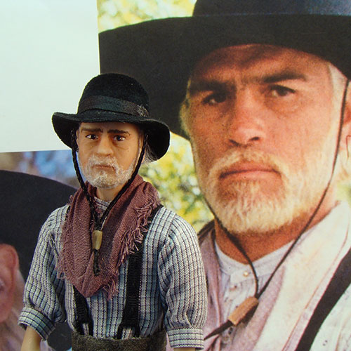 "92778916be6 Tommy Lee Jones as Captain Woodrow F. Call from ""Lonesome Dove"""